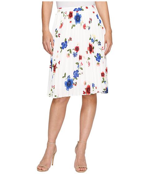 Ellen Tracy Sunburst Pleat Skirt