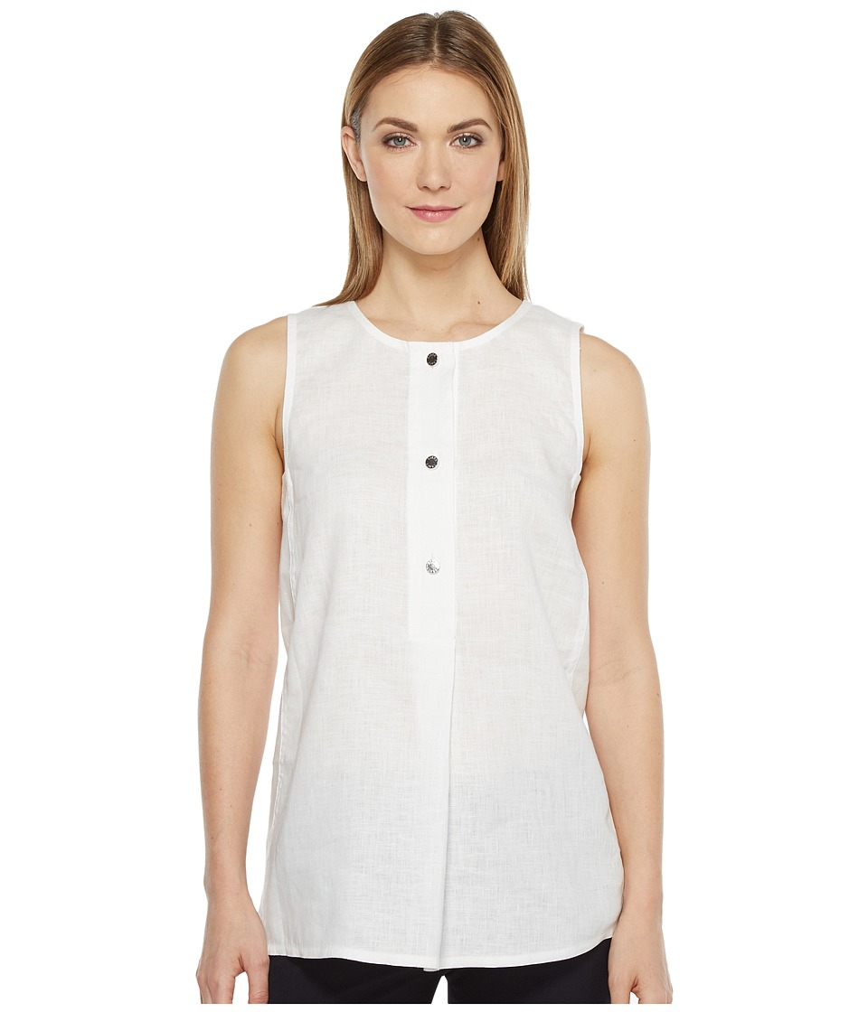 Ellen Tracy - Button Tunic
