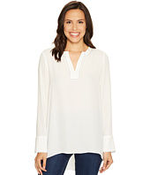 Ellen Tracy - Split-Neck Popover