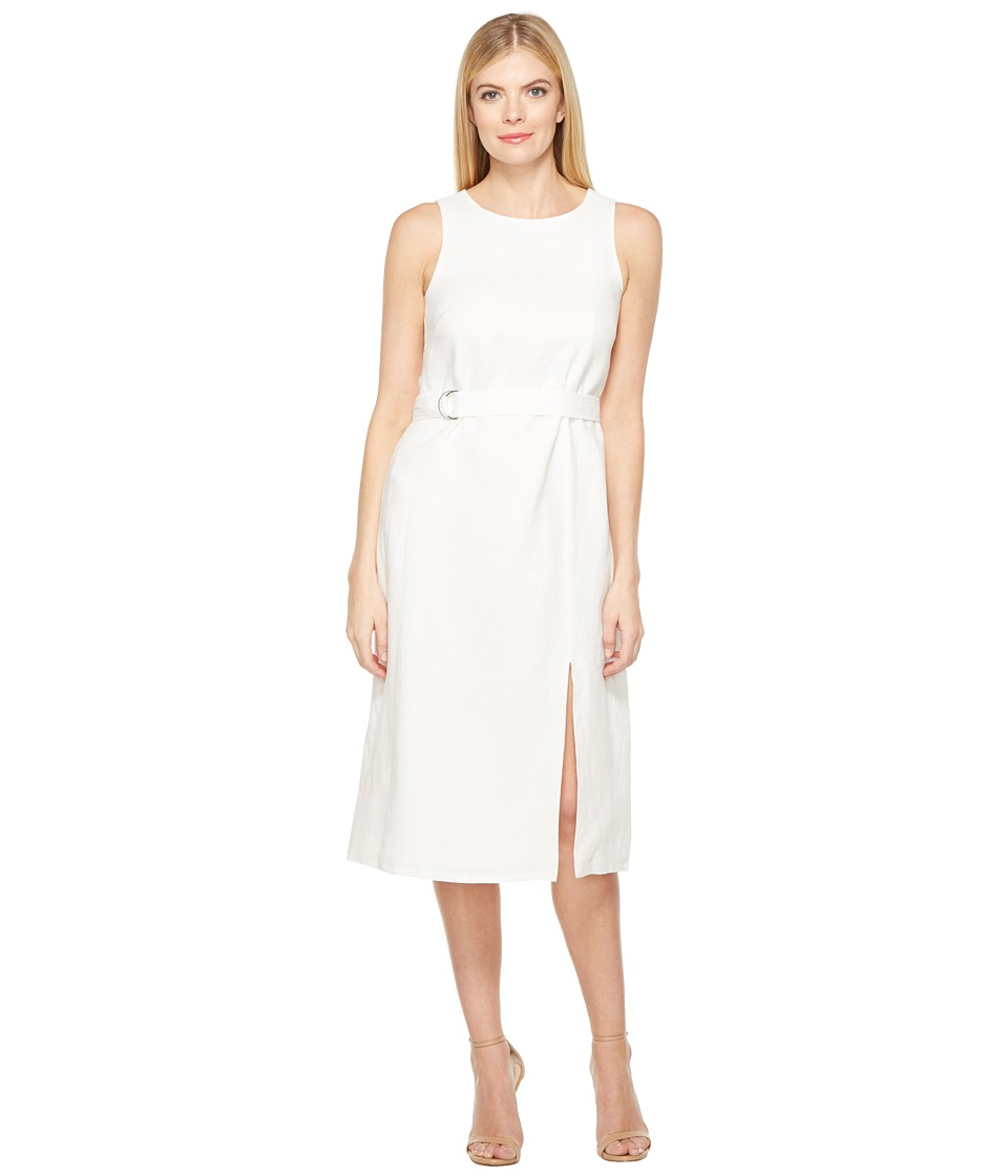 Ellen Tracy - Belted Column Dress