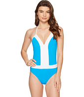 Bleu Rod Beattie - Summer Solids Plunge Halter Mio