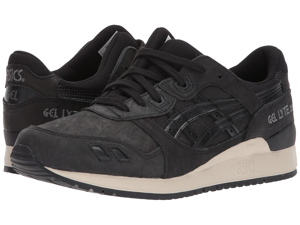 ASICS Tiger - Gel-Lyte III (Black/Black 3) Mens Shoes