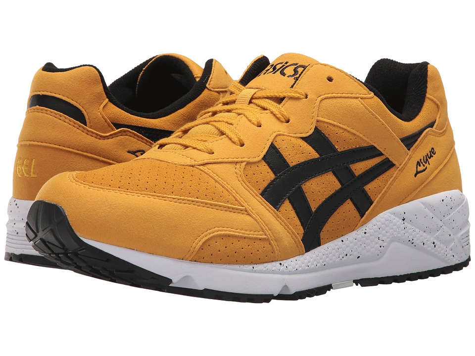 ASICS Tiger - Gel-Lique (Golden Amber/Black) Mens Shoes