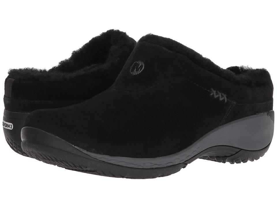Merrell Encore Q2 Ice (Black) Women's Clog Shoes