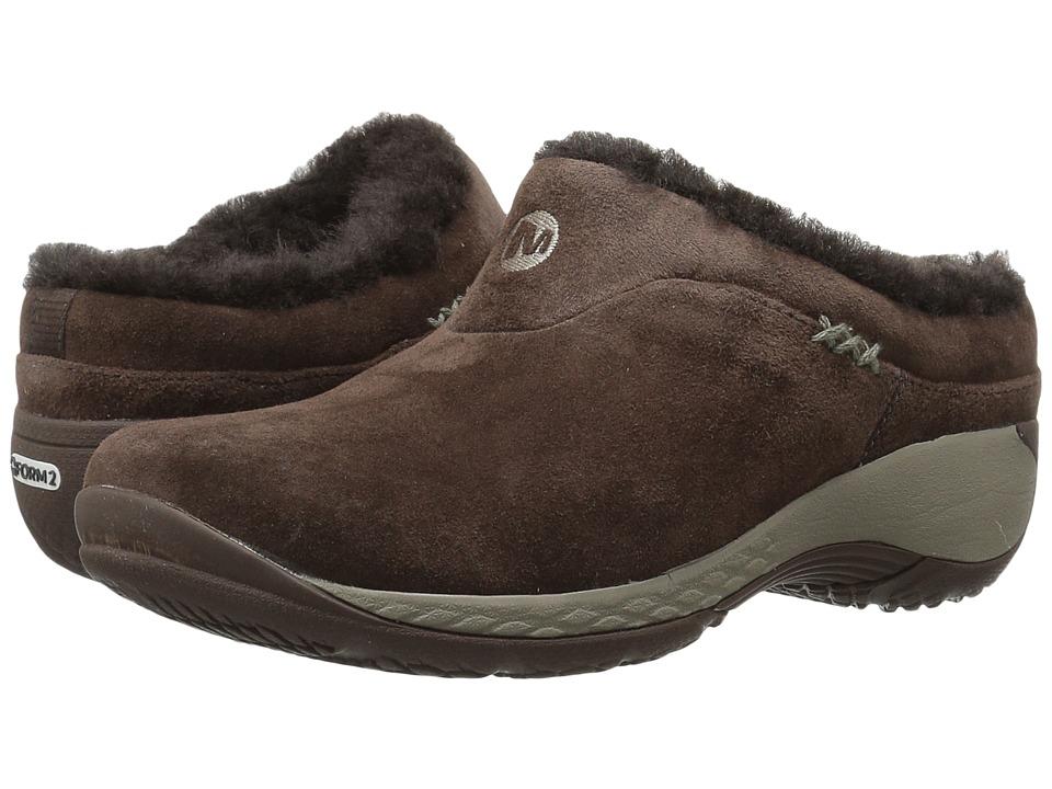 Merrell Encore Q2 Ice (Espresso) Women's Clog Shoes