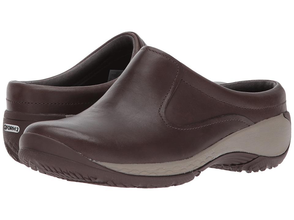 Merrell Encore Q2 Slide Leather (Espresso) Clogs