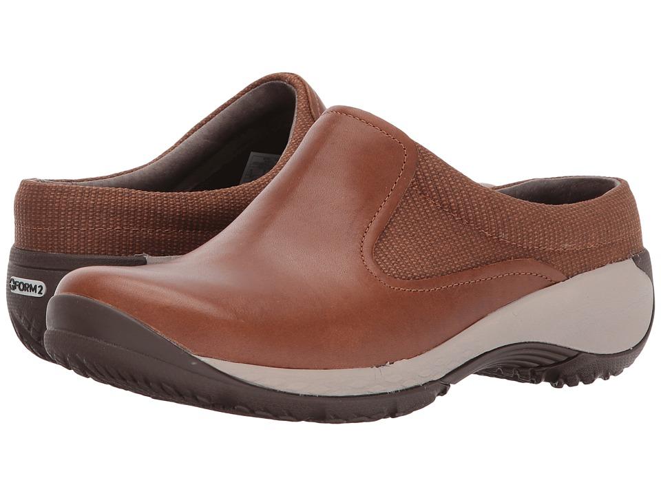 Merrell - Encore Q2 Slide Mesh (Merrell Oak) Womens Clog Shoes