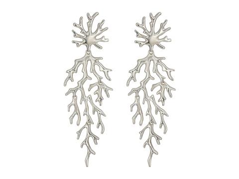 Kendra Scott Aviana Hourglass Earrings - Rhodium Metal