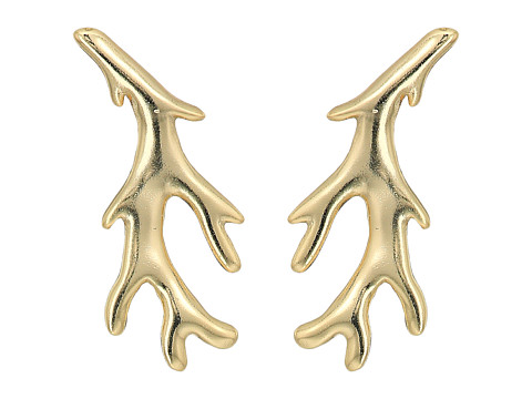 Kendra Scott Bobbi Stud Earrings - Gold Metal