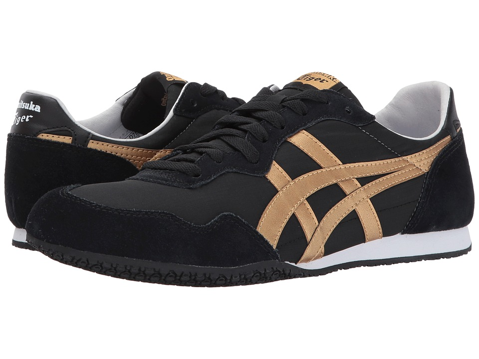 Onitsuka Tiger by Asics Serrano (Black/Gold) Shoes