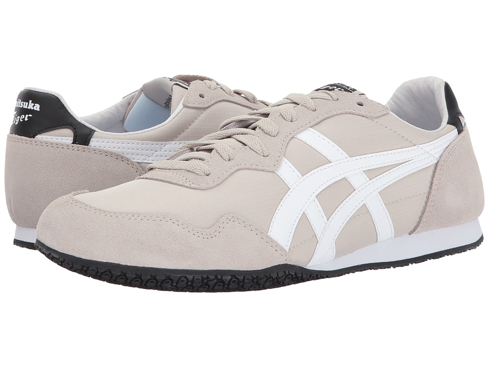 Onitsuka Tiger by Asics Serrano (Feather Grey/White) Shoes