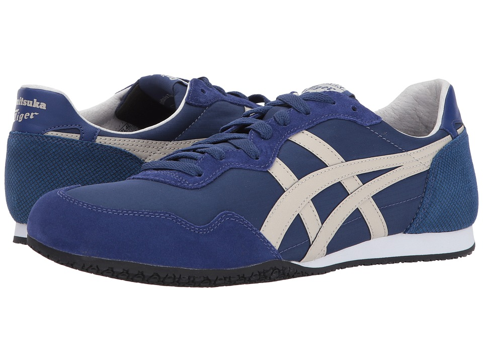Onitsuka Tiger by Asics Serrano (Navy Peony/Feather Grey) Shoes