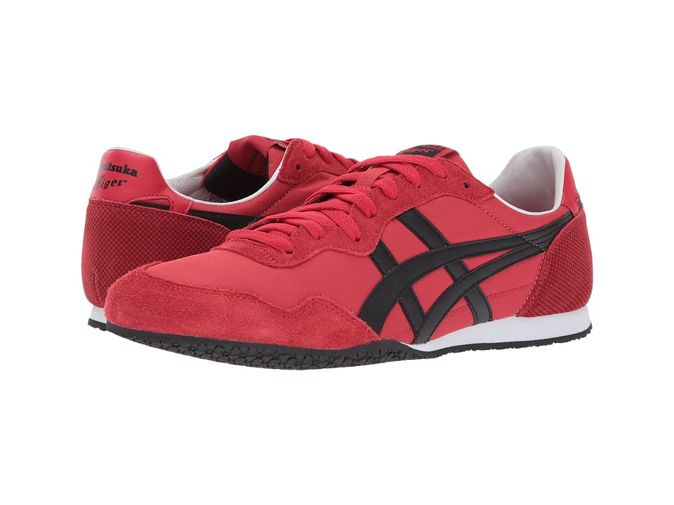 Onitsuka Tiger by Asics Serrano (Classic Red/Black) Shoes