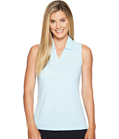 adidas Golf - Tonal Stripe Sleeveless Polo