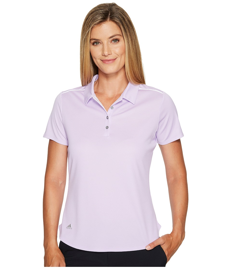 adidas Golf - Microdot Short Sleeve Polo