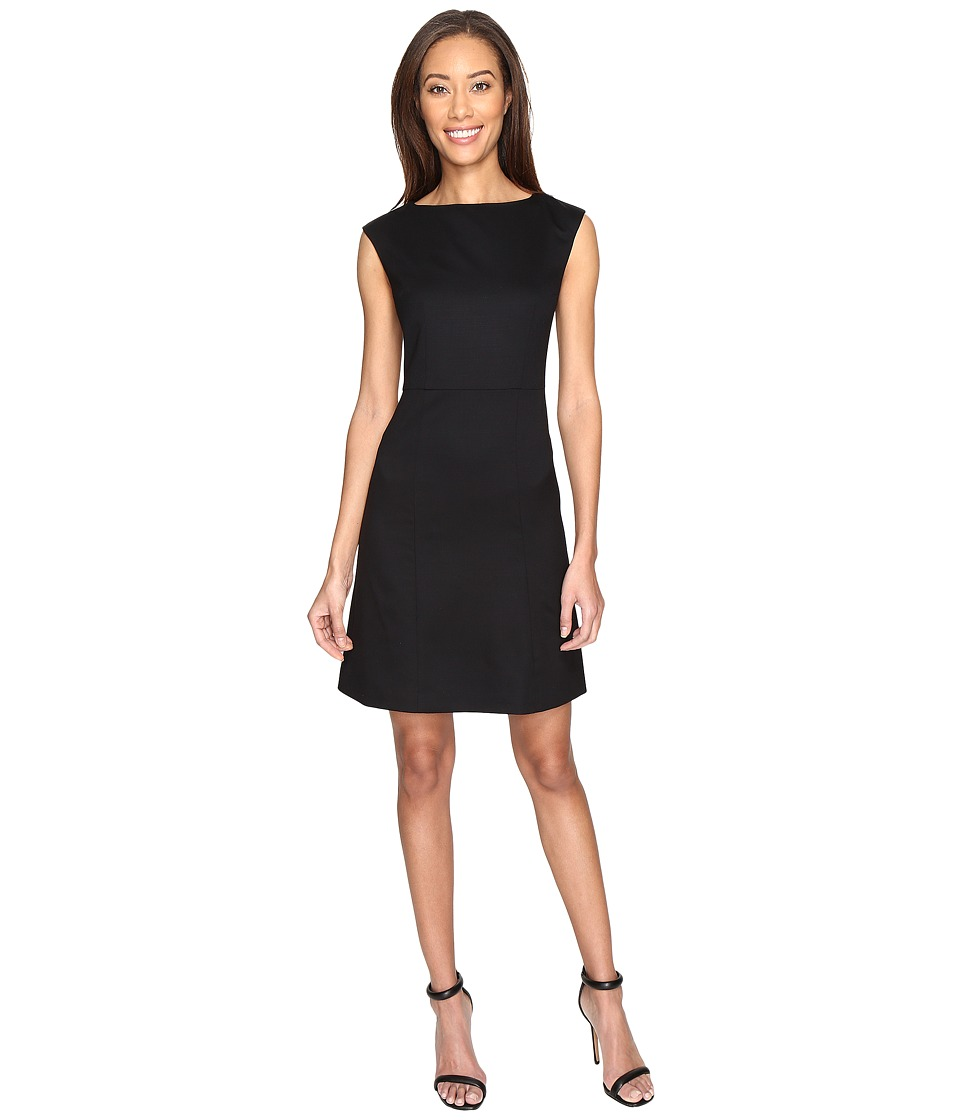 Pendleton Ultra 9 Stretch Wool Harrow Dress (Black Ultra 9 Stretch Worsted) Women