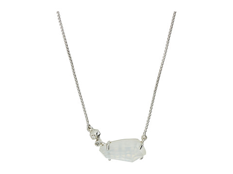 Kendra Scott Barbara Necklace - Rhodium/Ivory Mother-of-Pearl
