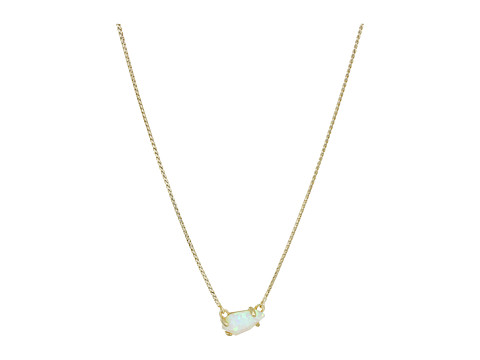 Kendra Scott Jayde Necklace - Gold/White Kyocera Opal
