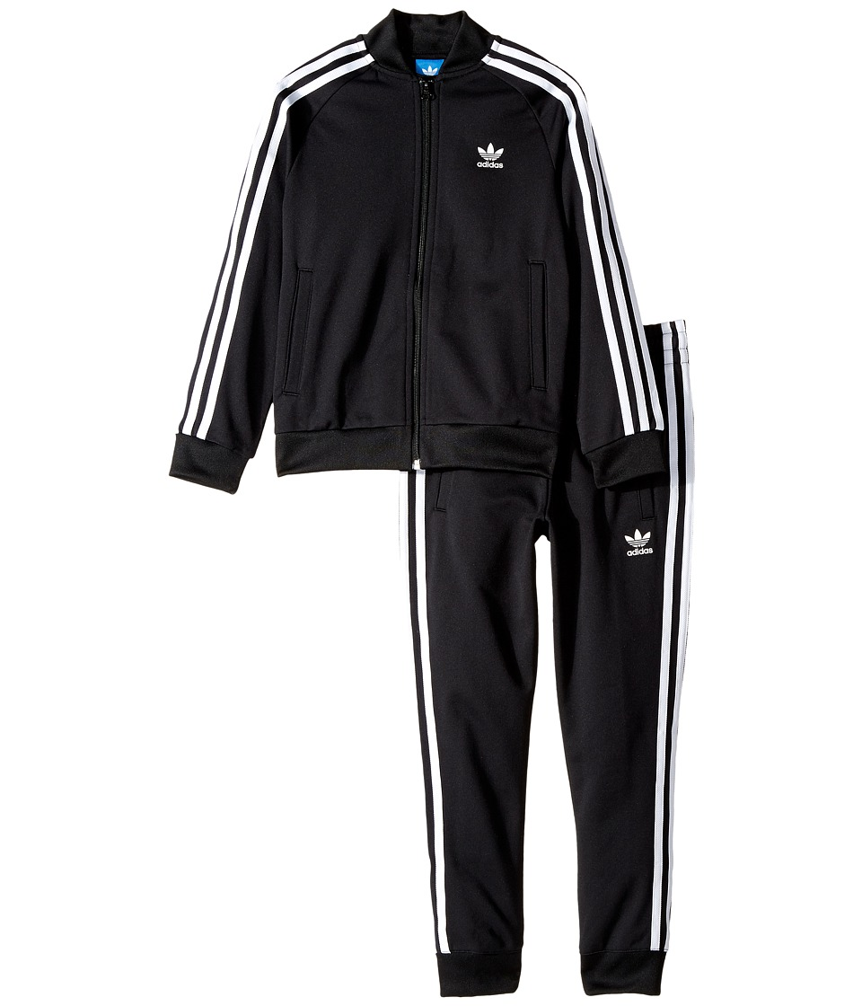 adidas Originals Kids - Superstar Tracksuit (Toddler/Litt...