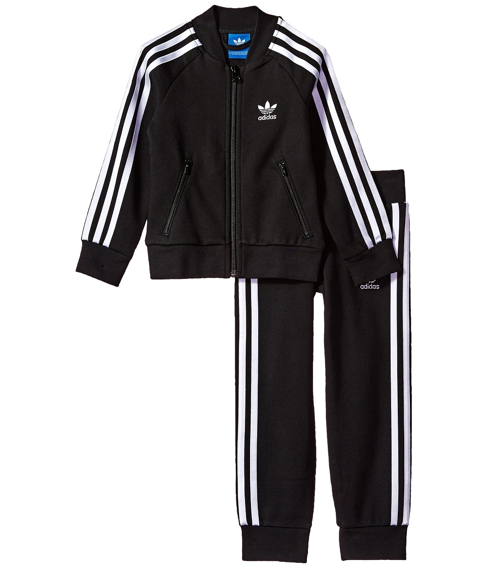 adidas Originals Kids - Superstar Fleece Tracksuit (Littl...