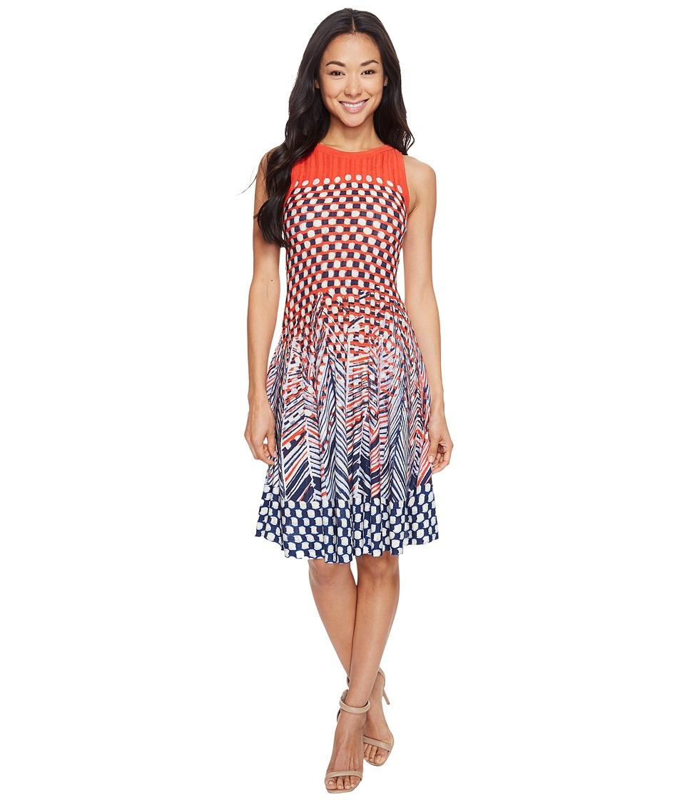 NIC+ZOE Petite Fiore Twirl Dress (Multi) Women