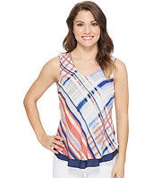 NIC+ZOE - Petite Painted Plaid Tank Top