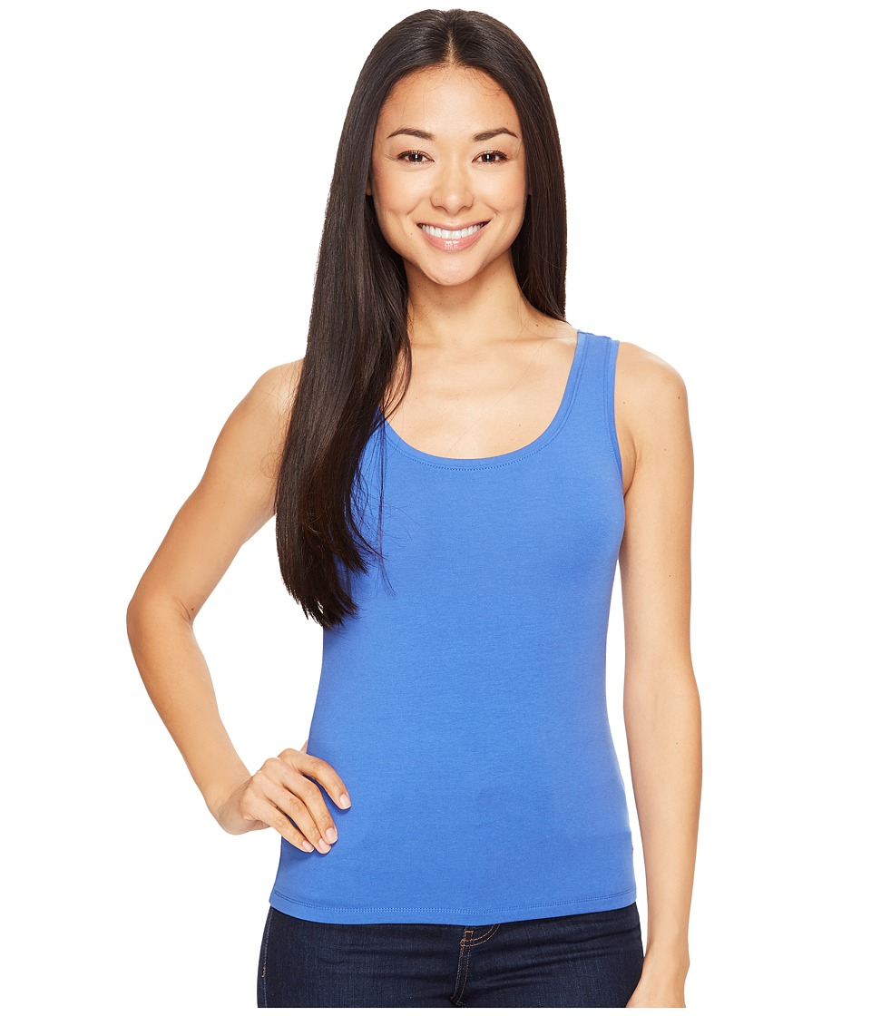 NIC+ZOE Petite Perfect Tank Top (Poolside) Women