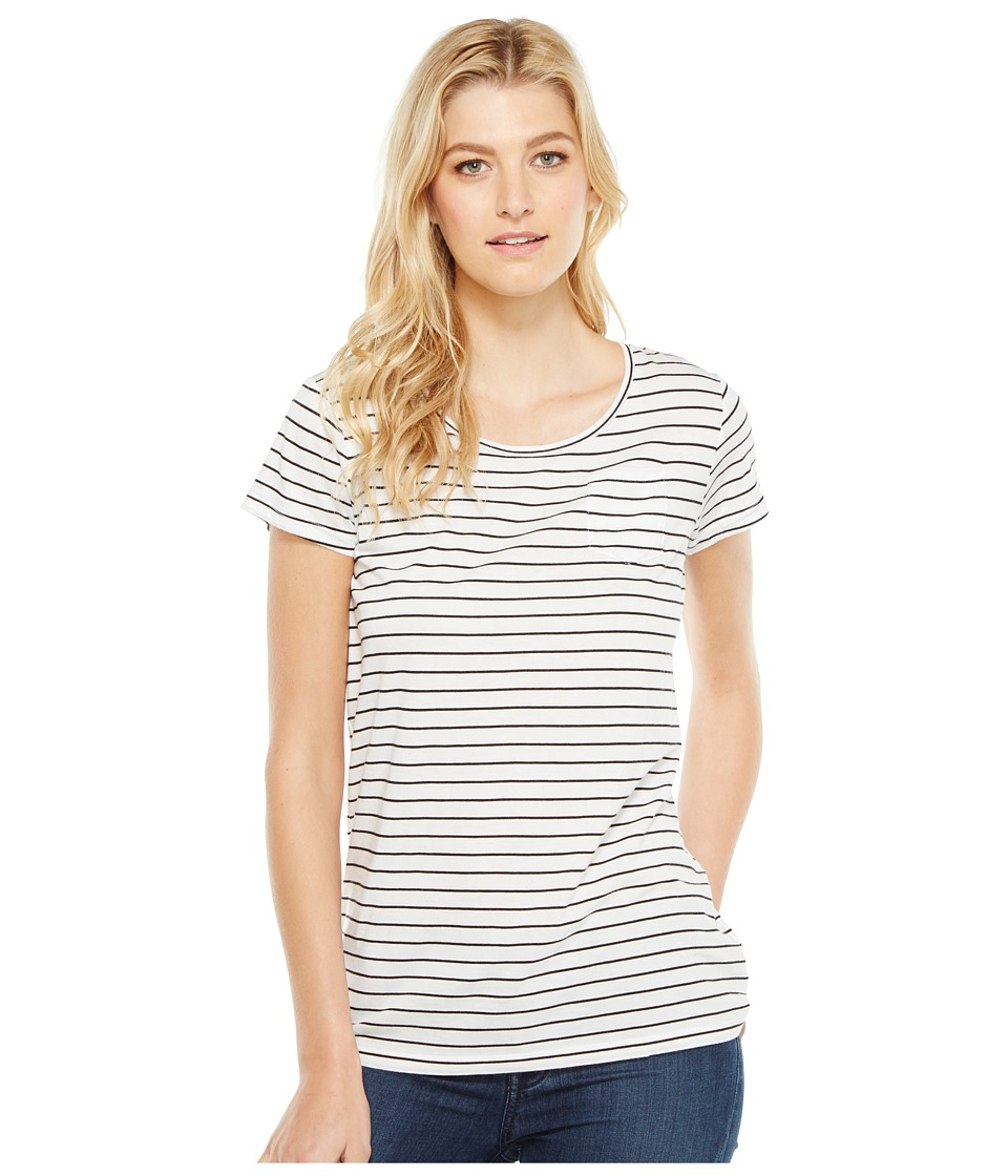 Pendleton Summer Stripe Tee (White/Black) Women