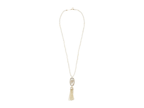 Kendra Scott Tatiana Necklace - Gold/Ivory Mother-of-Pearl/Ivory Mop Beads