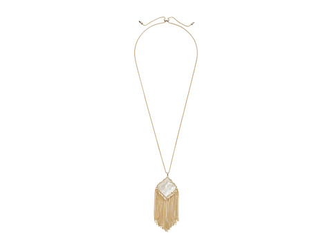 Kendra Scott Kingston Necklace - Gold/Ivory Mother-of-Pearl