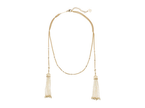 Kendra Scott Monique Collar Necklace - Gold/Ivory Mother-of-Pearl/Ivory Mop Beads