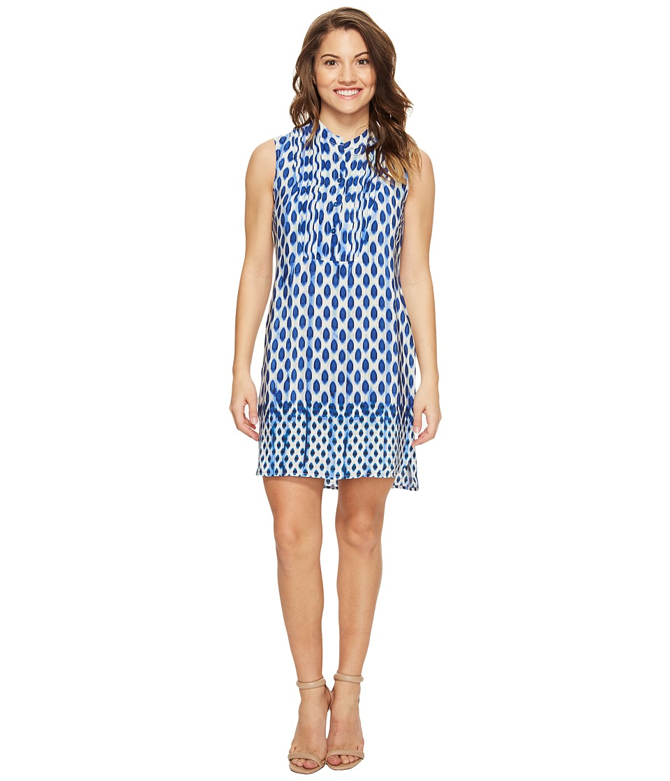 NIC+ZOE Petite Falling Dots Tunic Dress (Multi) Women