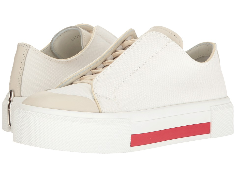 Alexander McQueen Lace-Up Sneaker (Ivory/Ivory/Ivory/Ivory) Women