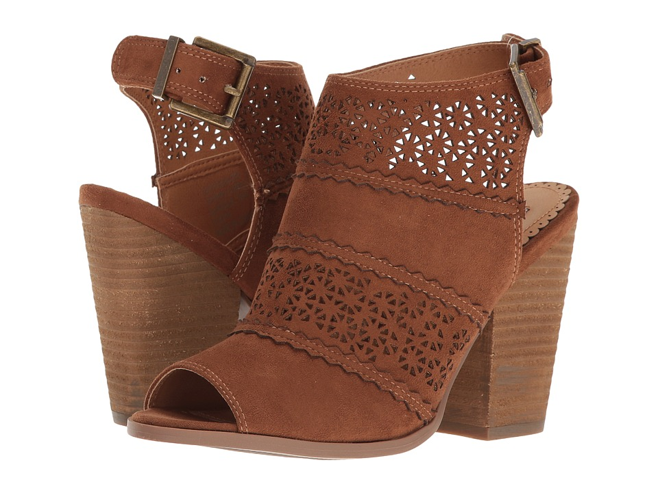 Not Rated Girl B Flossin (Tan) High Heels