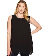 Karen Kane Plus - Plus Size Crossover Slit Tunic