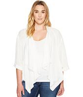 Karen Kane Plus - Plus Size Drape Jacket