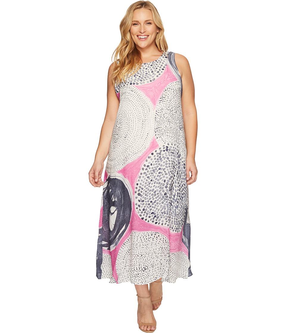 NIC+ZOE Plus Size Sungrove Dress (Clover) Women