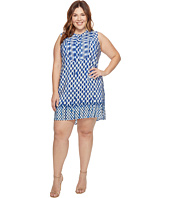 NIC+ZOE - Plus Size Falling Dots Tunic Dress