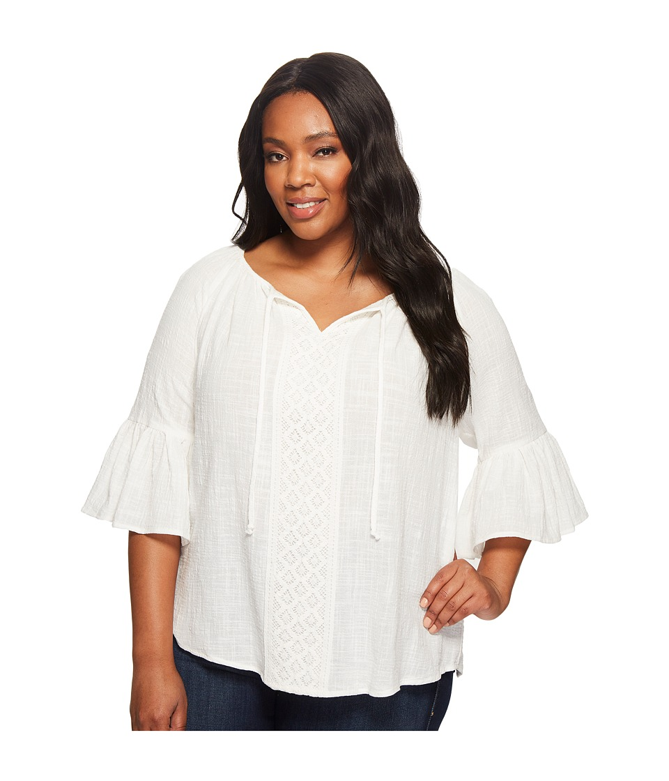 Karen Kane Plus - Plus Size Bell Sleeve Top