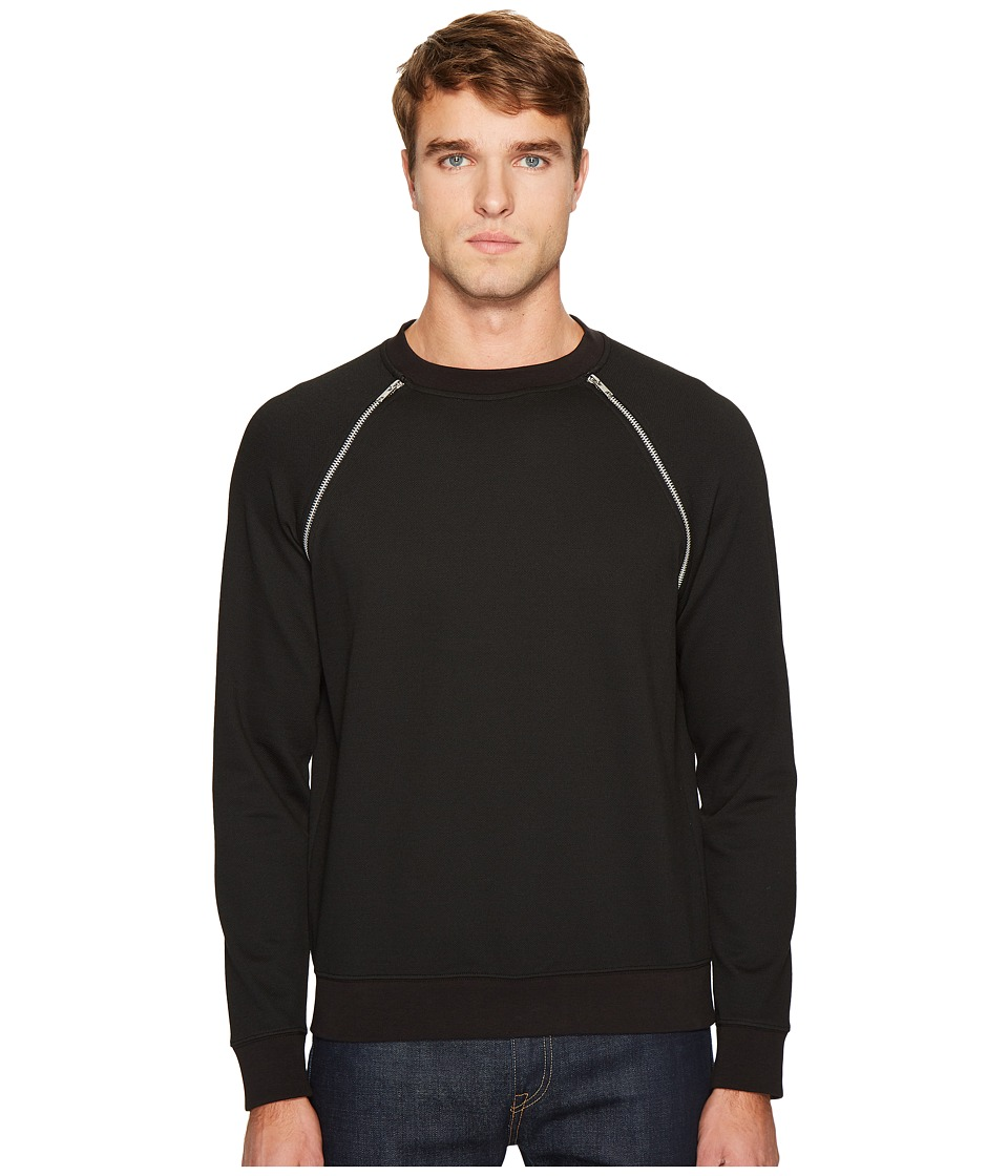 McQ - Zip Crew Neck Sweatshirt