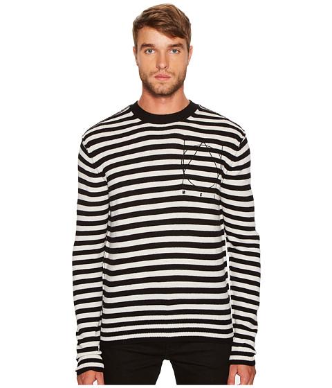McQ Striped Icon Sweater
