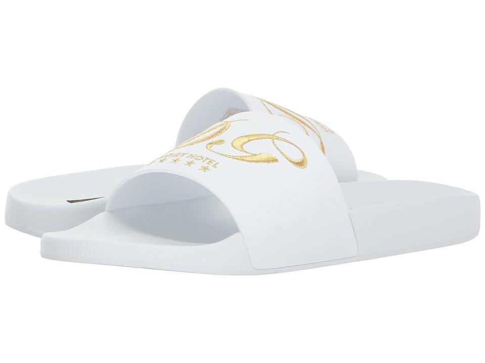 Dolce & Gabbana Slip-On Sandal (White) Men