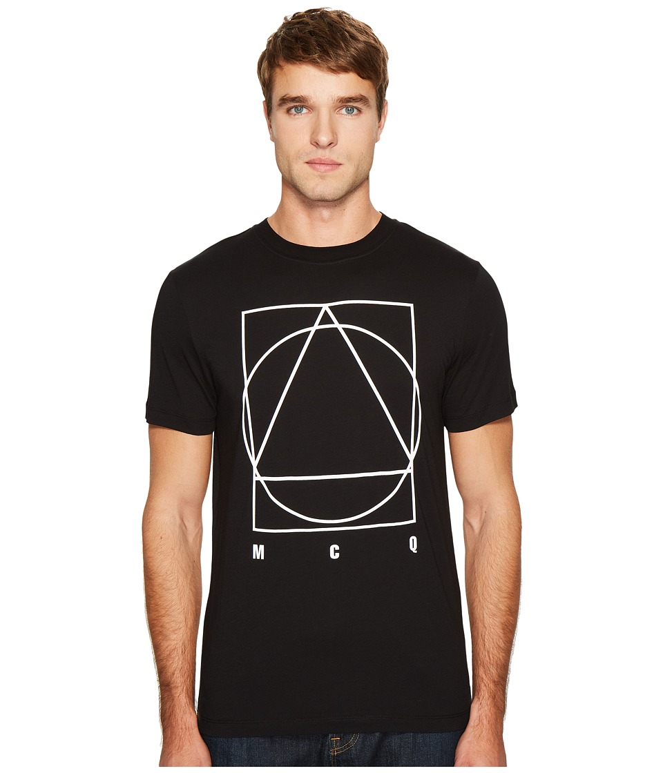 McQ - Triangle/Circle/Square T-Shirt