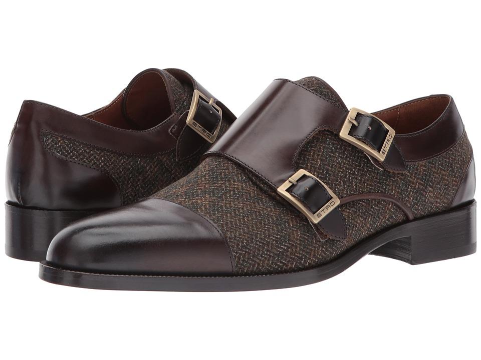 Etro - Wool/Leather Double Monk