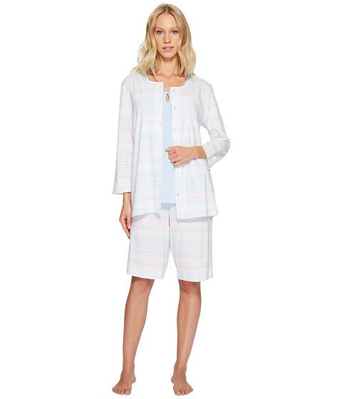 Carole Hochman Three-Piece Bermuda Pajama Set