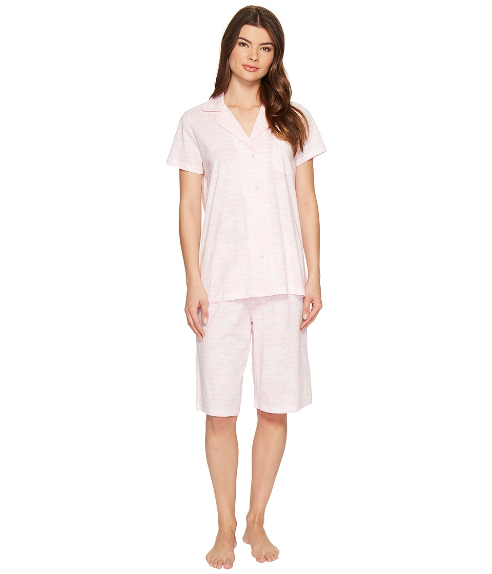 Carole Hochman Knit Bermuda Pajama (Vine) Women's Pajama ...