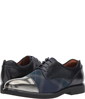 Etro - Plaid/Metallic Oxford