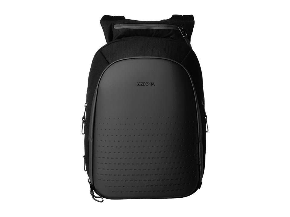 Z Zegna - Sprinter Backpack (Black) Backpack Bags