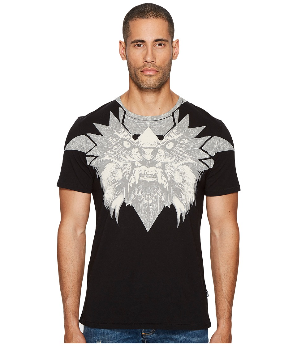 Just Cavalli Mask T-Shirt (Black) Men