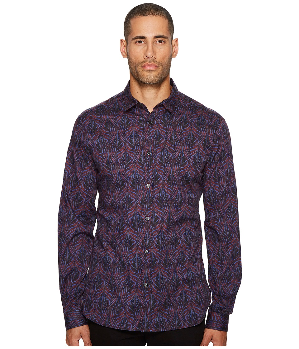 Just Cavalli - Camufeather Button Down